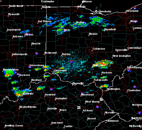 Radar Image for Severe Thunderstorms near Logan, OH at 5/26/2019 2:13 PM EDT