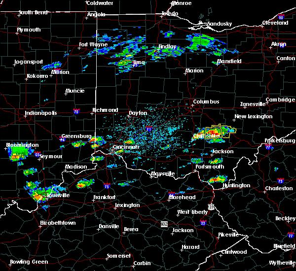 Radar Image for Severe Thunderstorms near Nelsonville, OH at 5/26/2019 2:13 PM EDT