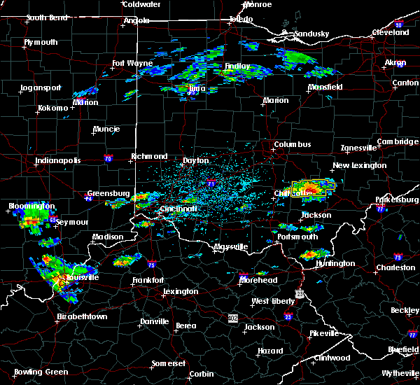 Radar Image for Severe Thunderstorms near Logan, OH at 5/26/2019 2:21 PM EDT
