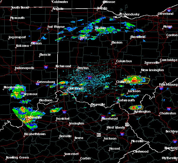 Radar Image for Severe Thunderstorms near Logan, OH at 5/26/2019 2:32 PM EDT