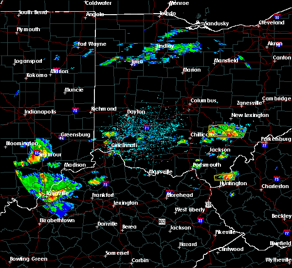 Radar Image for Severe Thunderstorms near Logan, OH at 5/26/2019 2:43 PM EDT