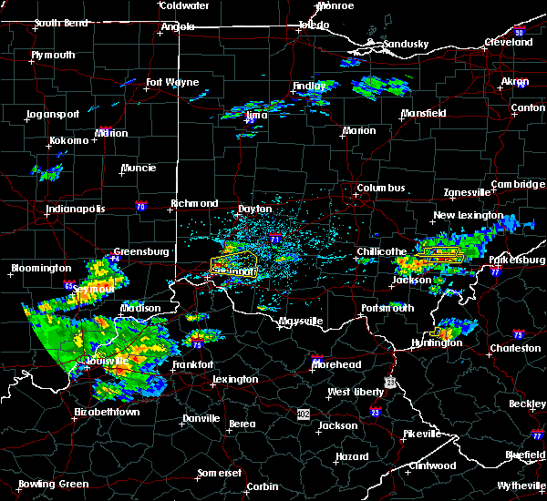 Radar Image for Severe Thunderstorms near Lebanon, OH at 5/26/2019 3:06 PM EDT