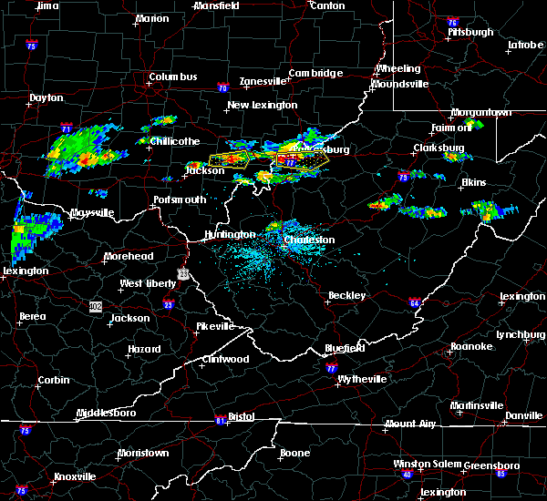 Radar Image for Severe Thunderstorms near Parkersburg, WV at 5/26/2019 3:55 PM EDT