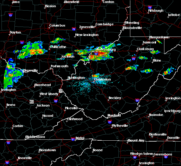 Radar Image for Severe Thunderstorms near Mineralwells, WV at 5/26/2019 4:12 PM EDT