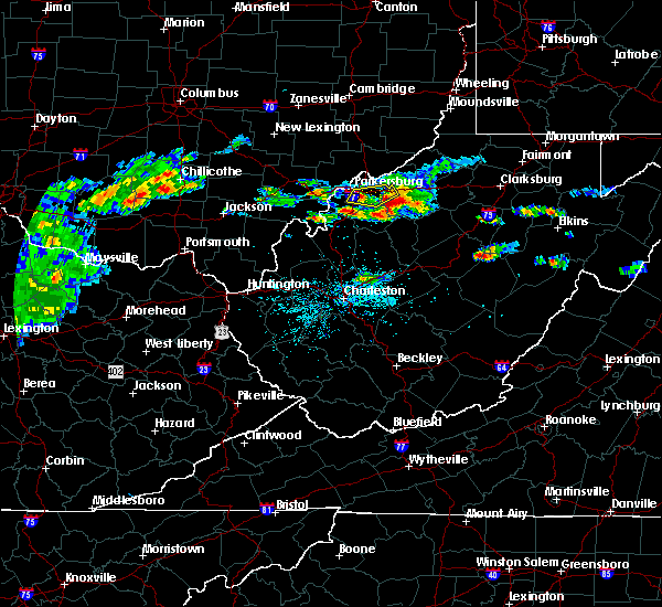 Radar Image for Severe Thunderstorms near Cairo, WV at 5/26/2019 4:31 PM EDT