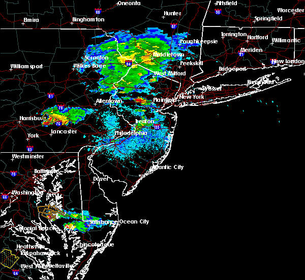 Radar Image for Severe Thunderstorms near Fivepointville, PA at 5/26/2019 4:58 PM EDT
