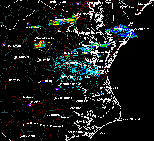 Radar Image for Severe Thunderstorms near Columbia, VA at 5/26/2019 5:42 PM EDT