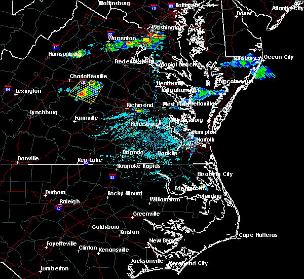 Radar Image for Severe Thunderstorms near Columbia, VA at 5/26/2019 6:00 PM EDT