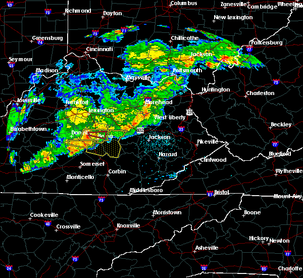 Radar Image for Severe Thunderstorms near McKee, KY at 5/26/2019 6:03 PM EDT