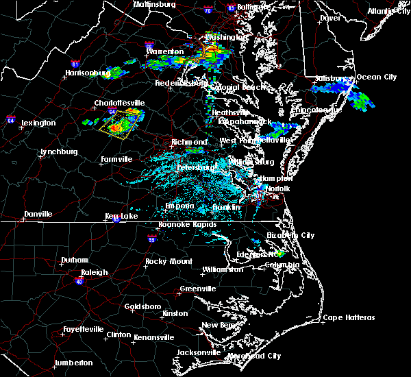 Radar Image for Severe Thunderstorms near Columbia, VA at 5/26/2019 6:10 PM EDT