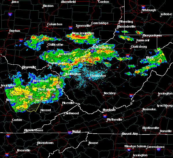 Radar Image for Severe Thunderstorms near Ravenswood, WV at 5/26/2019 6:51 PM EDT