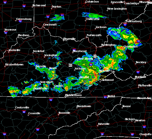 Radar Image for Severe Thunderstorms near Jenkins, KY at 5/26/2019 8:00 PM EDT