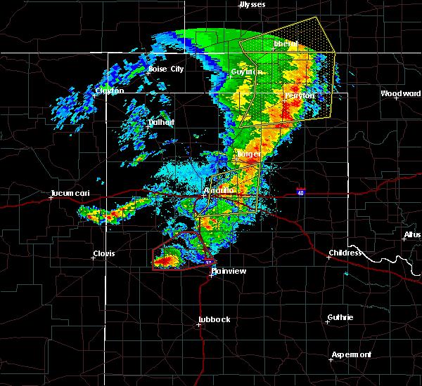 Radar Image for Severe Thunderstorms near Dimmitt, TX at 5/26/2019 10:18 PM CDT