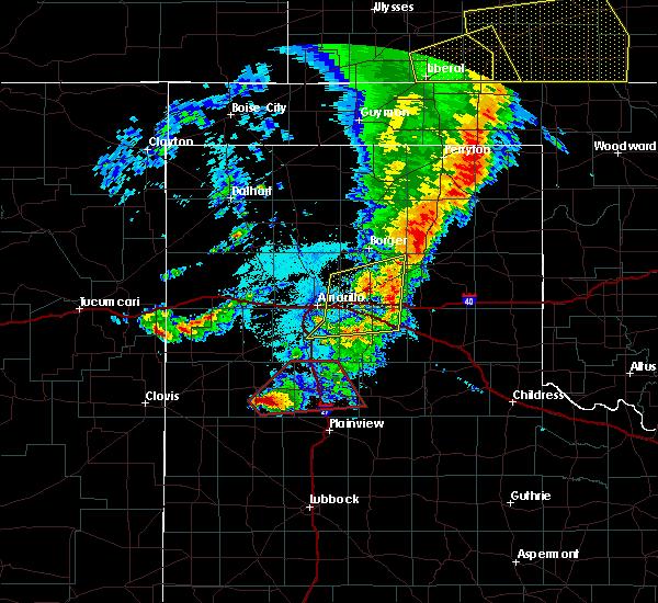 Radar Image for Severe Thunderstorms near Dimmitt, TX at 5/26/2019 10:32 PM CDT