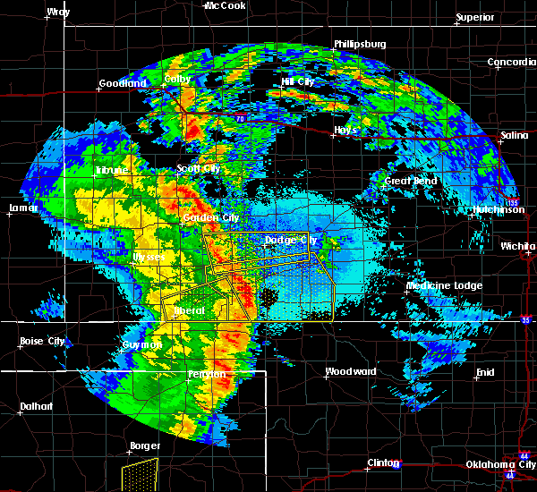 Radar Image for Severe Thunderstorms near Follett, TX at 5/26/2019 10:41 PM CDT