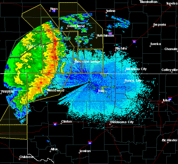 Radar Image for Severe Thunderstorms near Woodward, OK at 5/26/2019 11:53 PM CDT