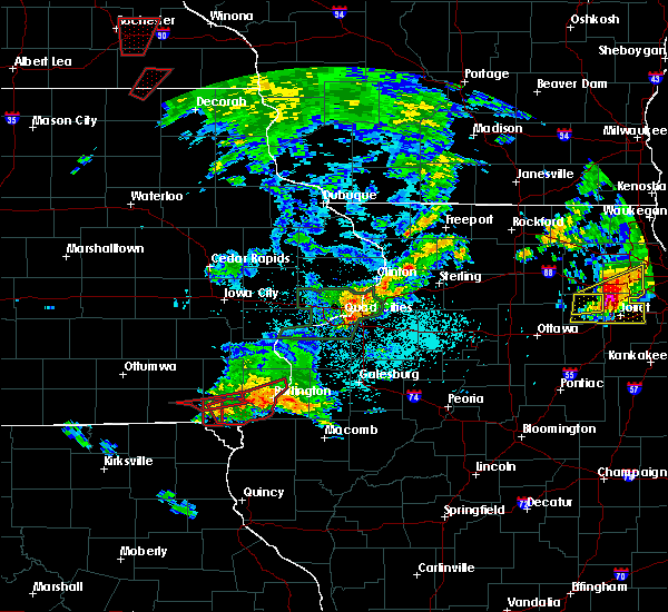 Radar Image for Severe Thunderstorms near Houghton, IA at 5/27/2019 1:59 PM CDT