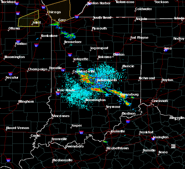 Radar Image for Severe Thunderstorms near Indianapolis, IN at 5/27/2019 3:04 PM EDT