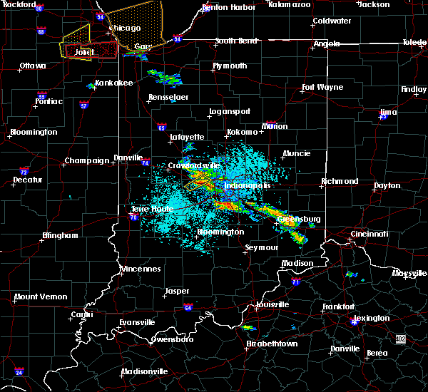 Radar Image for Severe Thunderstorms near Indianapolis, IN at 5/27/2019 3:15 PM EDT