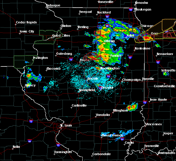 Radar Image for Severe Thunderstorms near Washburn, IL at 5/27/2019 4:30 PM CDT