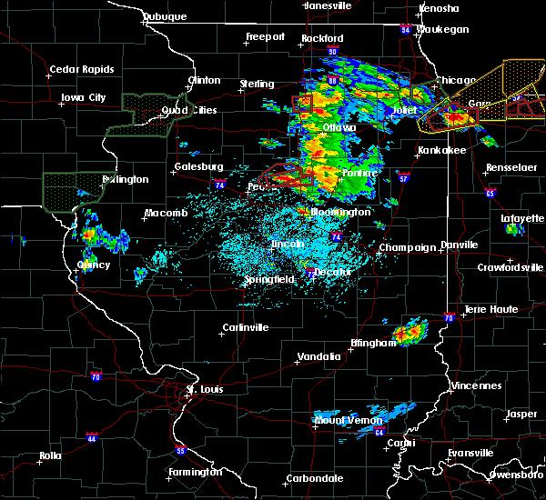Radar Image for Severe Thunderstorms near Metamora, IL at 5/27/2019 4:30 PM CDT