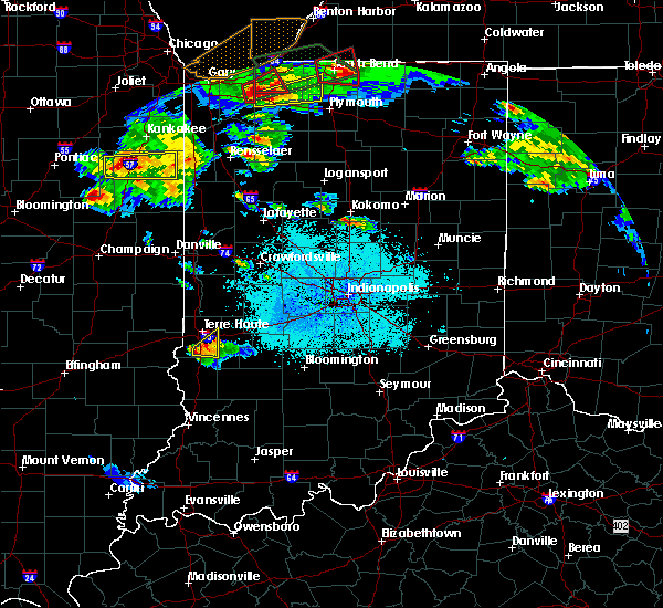 Radar Image for Severe Thunderstorms near Terre Haute, IN at 5/27/2019 6:32 PM EDT