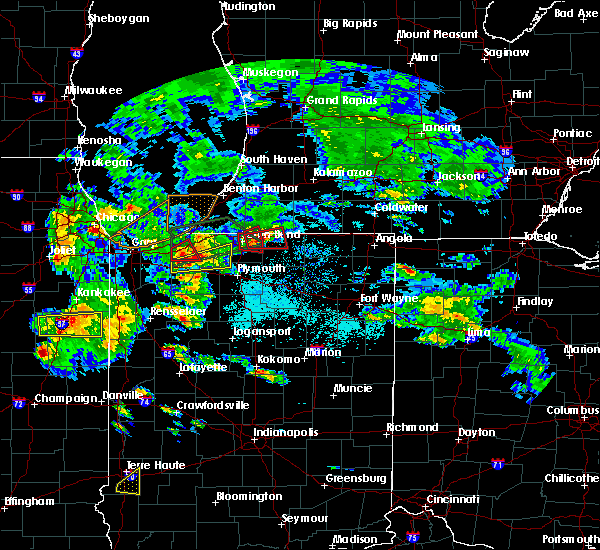 Radar Image for Severe Thunderstorms near Dunlap, IN at 5/27/2019 6:37 PM EDT
