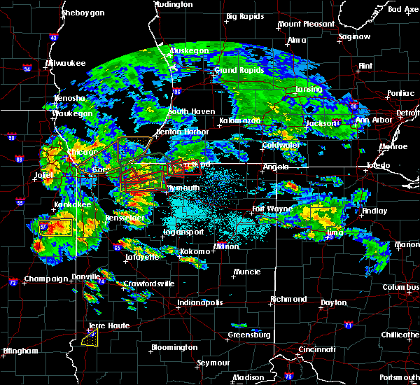 Radar Image for Severe Thunderstorms near Dunlap, IN at 5/27/2019 6:47 PM EDT