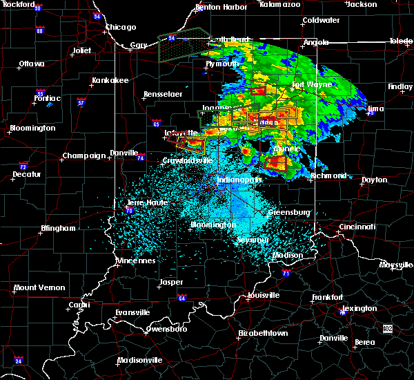 Radar Image for Severe Thunderstorms near Michigantown, IN at 5/27/2019 8:52 PM EDT