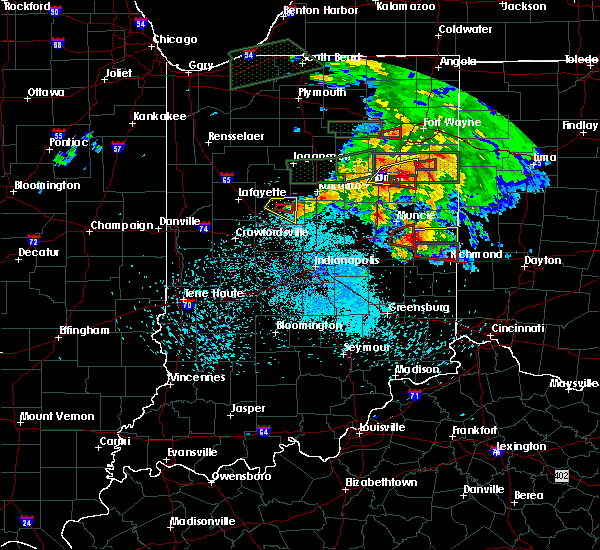 Radar Image for Severe Thunderstorms near Richmond, IN at 5/27/2019 9:02 PM EDT