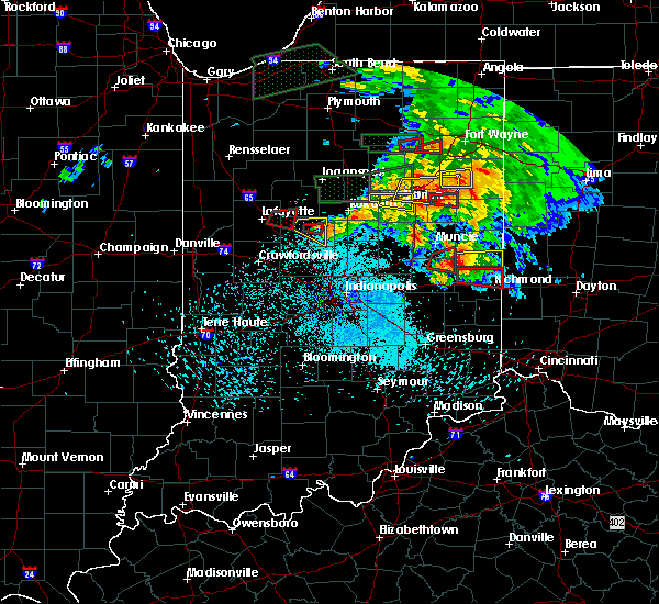Radar Image for Severe Thunderstorms near Michigantown, IN at 5/27/2019 9:05 PM EDT