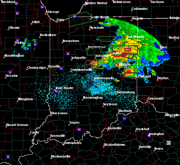 Radar Image for Severe Thunderstorms near Whitewater, IN at 5/27/2019 9:21 PM EDT