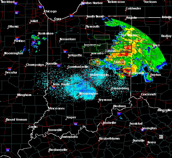 Radar Image for Severe Thunderstorms near Albany, IN at 5/27/2019 9:37 PM EDT