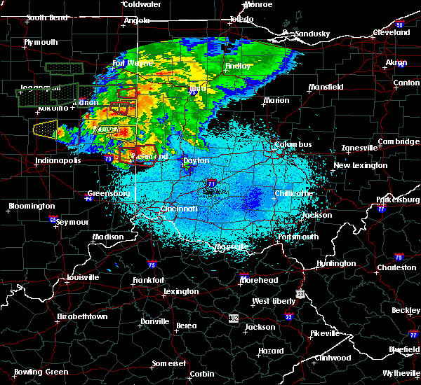 Radar Image for Severe Thunderstorms near Whitewater, IN at 5/27/2019 9:45 PM EDT