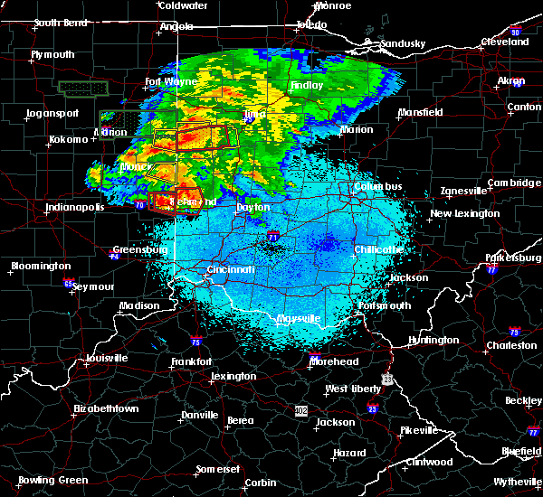 Radar Image for Severe Thunderstorms near Whitewater, IN at 5/27/2019 10:01 PM EDT