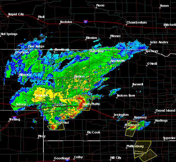 Radar Image for Severe Thunderstorms near Maxwell, NE at 5/27/2019 9:42 PM CDT