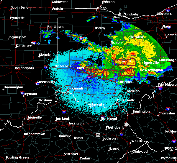 Radar Image for Severe Thunderstorms near Jeffersonville, OH at 5/28/2019 12:18 AM EDT