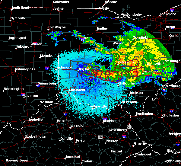 Radar Image for Severe Thunderstorms near Jeffersonville, OH at 5/28/2019 12:29 AM EDT