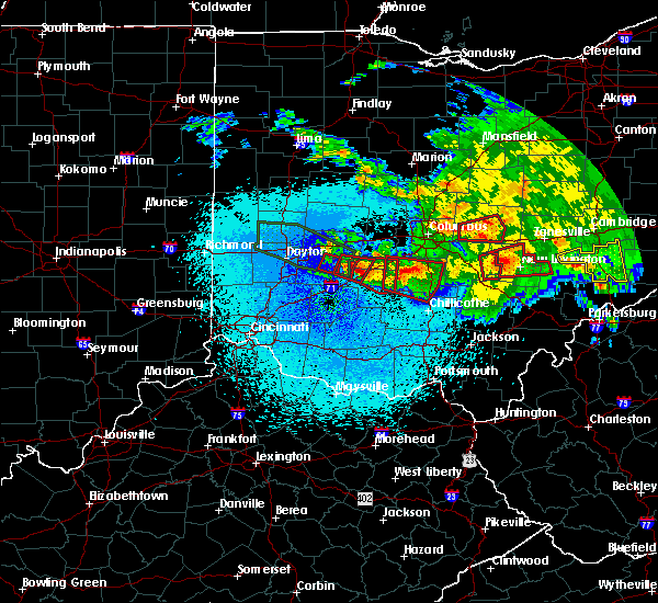 Radar Image for Severe Thunderstorms near Jeffersonville, OH at 5/28/2019 12:32 AM EDT