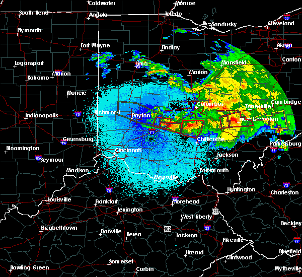 Radar Image for Severe Thunderstorms near Jeffersonville, OH at 5/28/2019 12:41 AM EDT