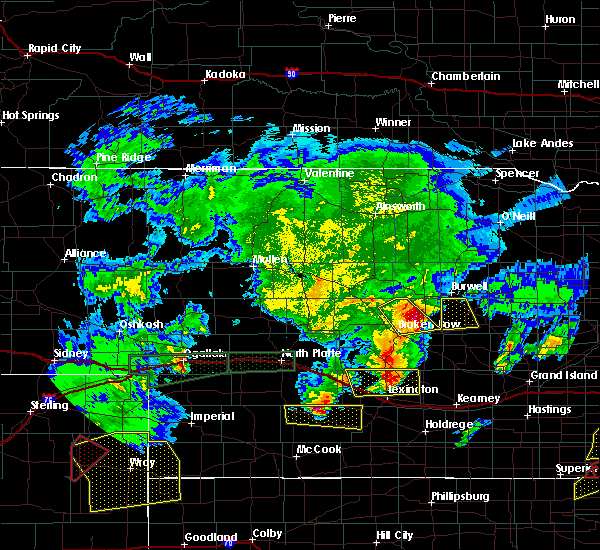 Radar Image for Severe Thunderstorms near Comstock, NE at 5/27/2019 11:50 PM CDT