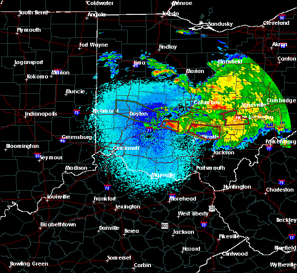 Radar Image for Severe Thunderstorms near Jeffersonville, OH at 5/28/2019 12:51 AM EDT