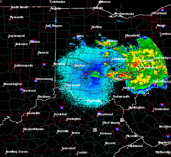 Radar Image for Severe Thunderstorms near Logan, OH at 5/28/2019 1:23 AM EDT