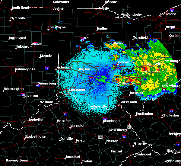 Radar Image for Severe Thunderstorms near Logan, OH at 5/28/2019 1:31 AM EDT