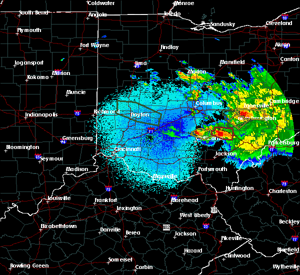 Radar Image for Severe Thunderstorms near New Lexington, OH at 5/28/2019 1:36 AM EDT
