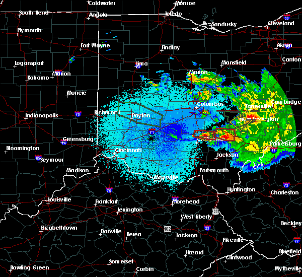 Radar Image for Severe Thunderstorms near Logan, OH at 5/28/2019 1:47 AM EDT