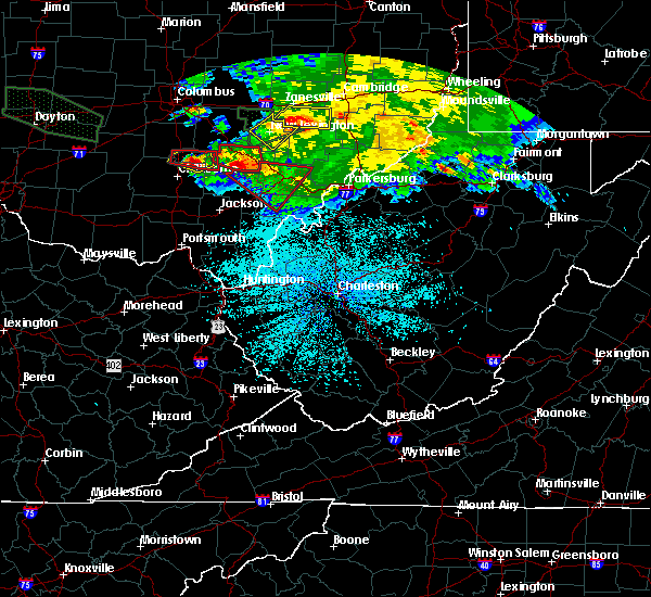 Radar Image for Severe Thunderstorms near Chesterhill, OH at 5/28/2019 1:48 AM EDT