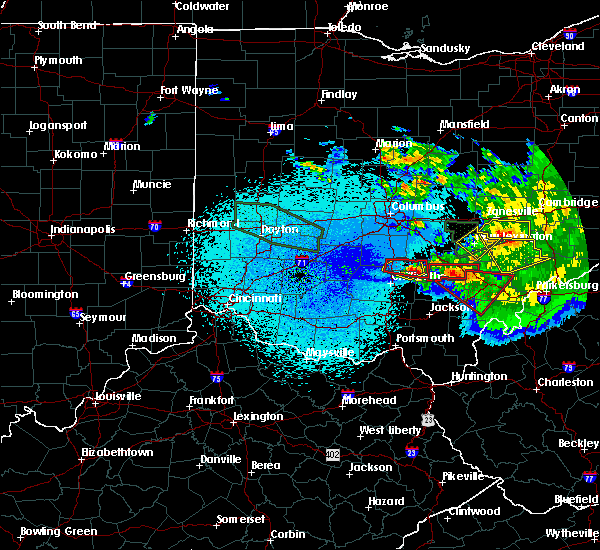 Radar Image for Severe Thunderstorms near Logan, OH at 5/28/2019 1:54 AM EDT