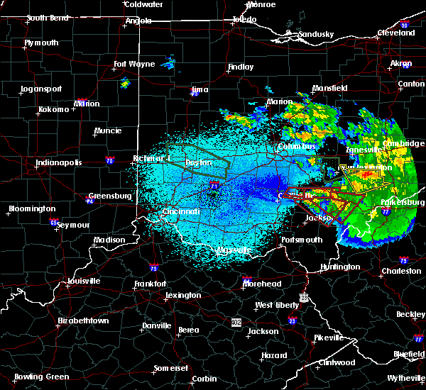 Radar Image for Severe Thunderstorms near Albany, OH at 5/28/2019 2:05 AM EDT