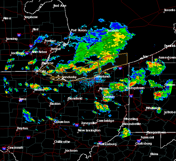 Radar Image for Severe Thunderstorms near Sandyville, OH at 6/14/2015 5:34 PM EDT